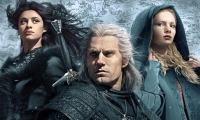 The Witcher | Série ganha novo poster com Geralt, Yennefer e Ciri