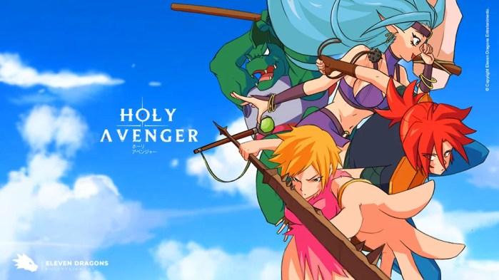 Holy Avenger | Confira o teaser em animação divulgado na CCXP19