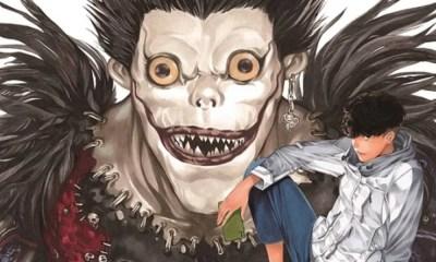 Death Note | Novo mangá one-shot tem primeira arte oficial revelada