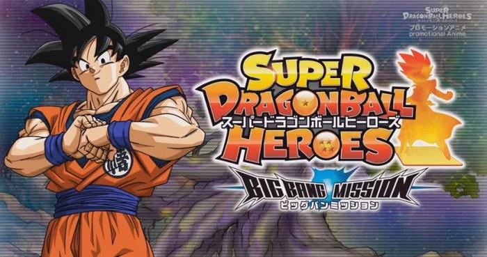 Super Dragon Ball Heroes   Episódio 20 iniciará arco Big Bang Mission