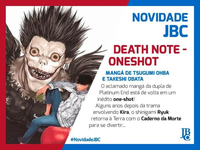 Death Note | One-shot será lançado no Brasil pela JBC