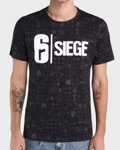 Rainbow Six Siege   Ubisoft e Riachuelo apresentam coleção exclusiva de camisetas