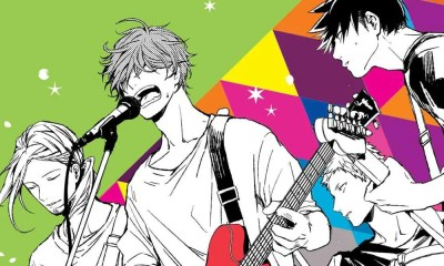 Given | NewPOP revela arte da capa do volume 2 do mangá