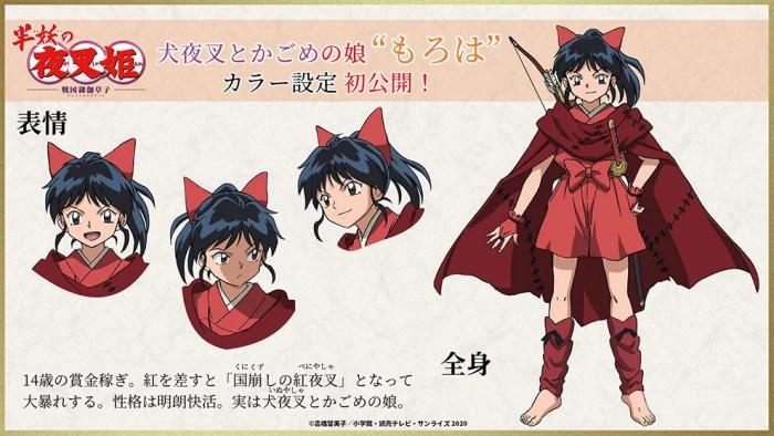 Yashahime: Princess Half-Demon | Visual da filha de Inuyasha é revelado