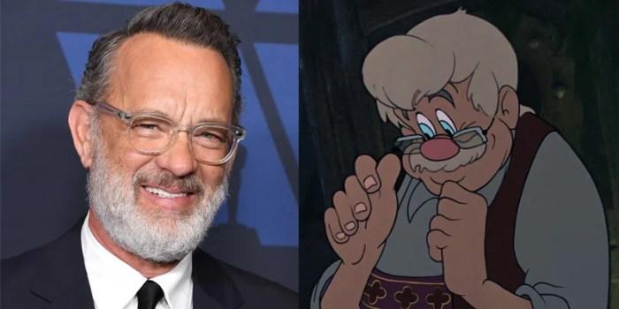 Tom Hanks é cotado para o elenco do live-action de Pinóquio