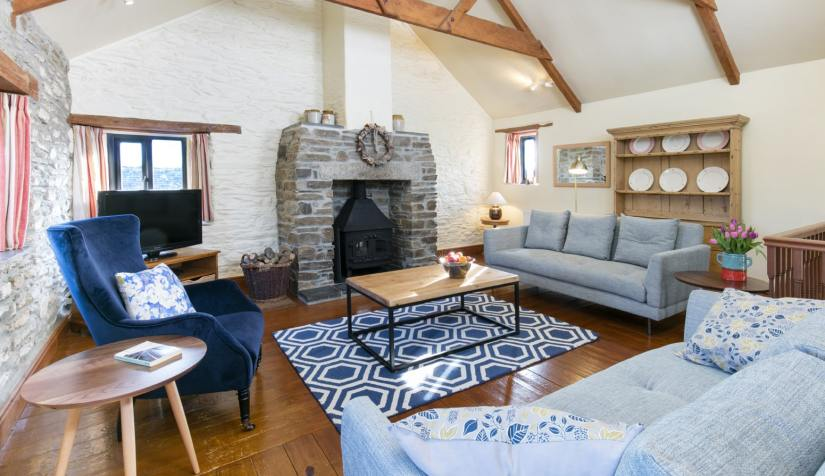 Granary Cottage Living Room
