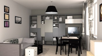 3D Renders - TREDI Interiors - E.AVAGNINA designer 3