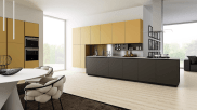 Luxury and Modern Italian kitchen M22 7 by Mesons - made in Italy