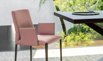 Modern Italian Design dining chair by Riflessi