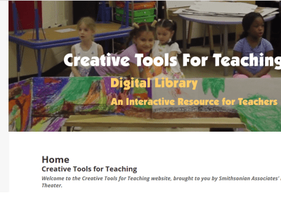 Smithsonian Creative Tools for Teaching