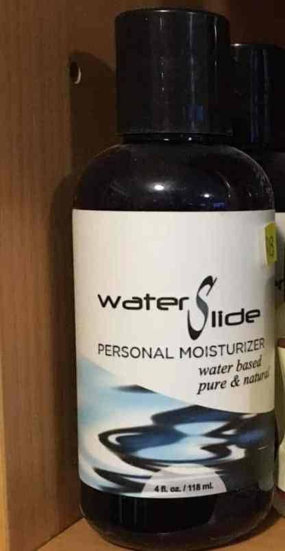 pure natural water based lubricant