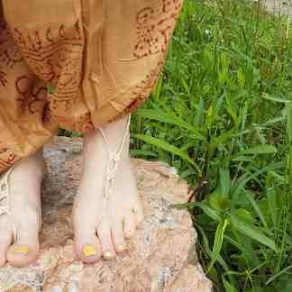 cab84ca67fb9 Barefoot Sandals Handmade Locally from 100% Hemp