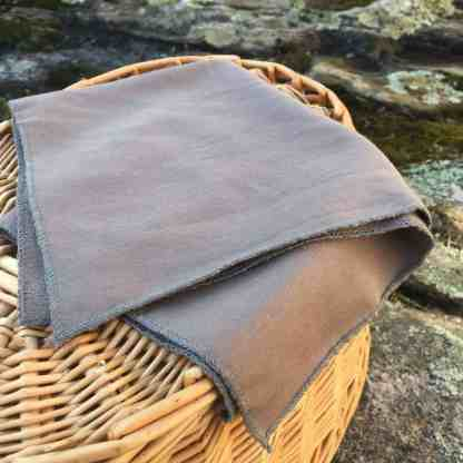 Grey Bamboo Facecloth