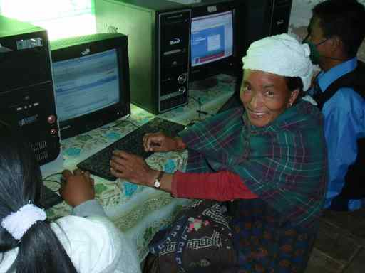 Woman, Nepal Library Foundation