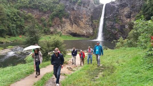 Trip to Hunua Falls