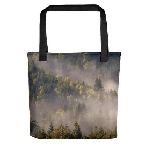 All-Over Print Tote - Fog