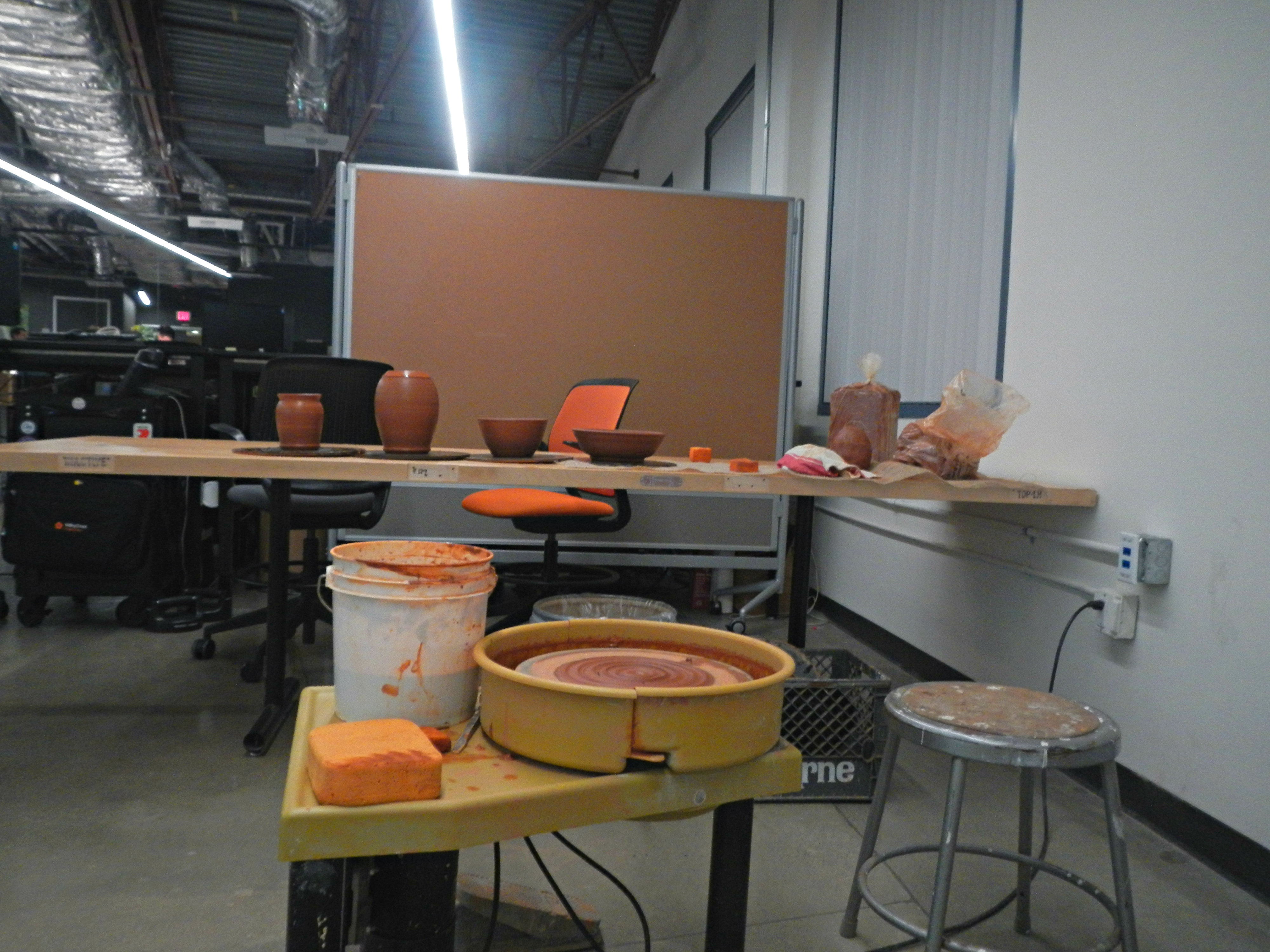 Pottery Station by Trent Noll
