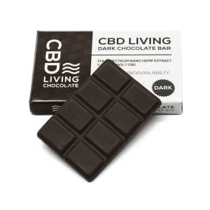 CBD LIVING 120MG CBD INFUSED DARK CHOCOLATE