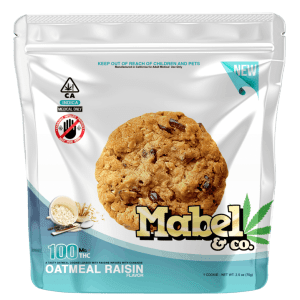 MABEL & CO 100MG -OATMEAL RAISIN COOKIE