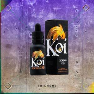 Koi CBD- GOLD 100mg Vape Juice 30ml (Vanilla Carmel Custard)