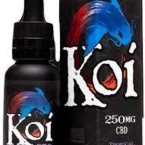 KOI CBD- GOLD TROPICAL POPSICLE 250MG 30ML VAPE JUICE