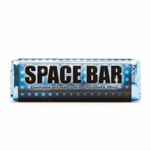 Space Bar 180MG Cannabis Infused Dark Chocolate Mint