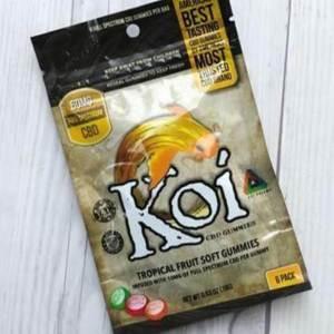 Koi Tropical Fruit Soft Gummies 60mg Full Spectrum CBD