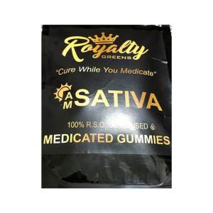 ROYALTY GREENS Gummies – Sativa (Daytime)