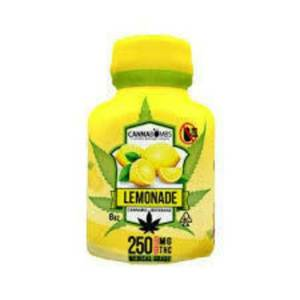 CANNABOMB – LEMONADE 250MG CANNABIS INFUSED SOFT DRINK