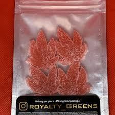 ROYALTY GREENS Gummies – Watermelon 400mg