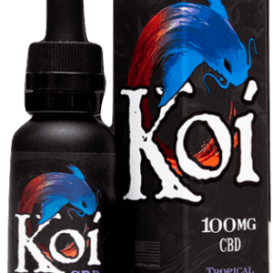 Koi CBD- GOLD 100mg Vape Juice 30ml (Tropical Popsicle)