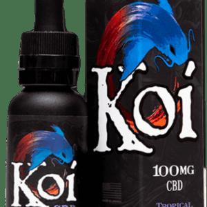 KOI CBD- GOLD TROPICAL POPSICLE 100MG 30ML VAPE JUICE