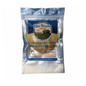 BLUE HEAVEN FARMS ORGANIC 1000MG MACADAMIA NUT COOKIE