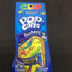 POP CARTS GUSHERS HYBRID 1500MG PREMIUM 1 GRAM CBD CARTRIDGE