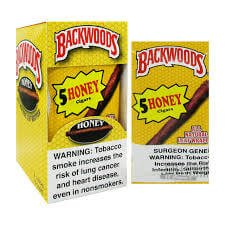 5 PACK HONEY BACKWOODS