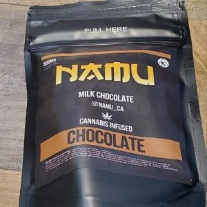 NAMU 500MG MILK CHOCOLATE