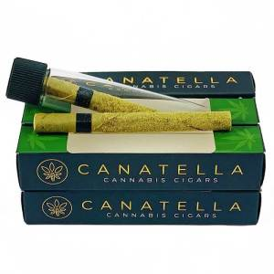 CANATELLA PREMIUM CANNABIS CIGAR-GOLDEN KIEF-SATIVA