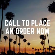 TEXT OR CALL TO CONFIRM ORDER