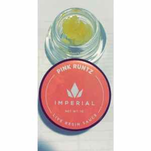 IMPERIAL EXTRACTS | PINK RUNTZ | LIVE RESIN DIAMOND SAUCE