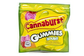 CANNABURST 500MG SOURS GUMMIES CANNABIS INFUSED