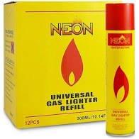 NEON LIGHTER GAS REFILL BUTANE UNIVERSAL FLUID FUEL ULTRA REFINED