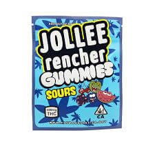 MEDICATED JOLLY RENCHER 600MG CANNABIS INFUSED SOUR GUMMIES