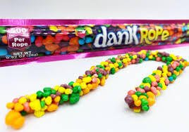 DANK GUMMIES 500MG ROPE CANNABIS INFUSED