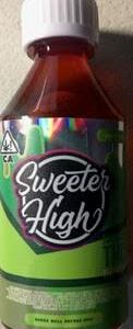 SWEETER HIGH GREEN APPLE 1000MG THC SYRUP
