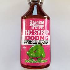 STACK'N'TREES WATERMELON 1000MG CANNABIS INFUSED SYRUP