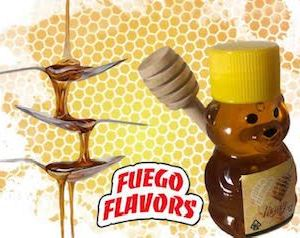 FUEGO FLAVORS 500MG CANNABIS INFUSED HIGH QUALITY HONEY