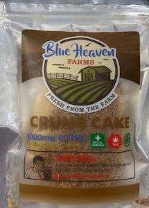 BLUE HEAVEN FARMS ORGANIC 1000MG CANNABIS INFUSED CRUMB CAKE