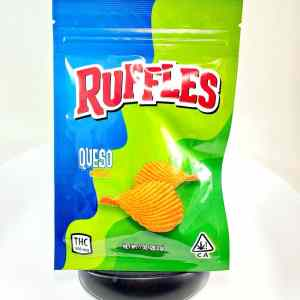 DEVOUR RUFFLES QUESO 600MG CANNABIS INFUSED