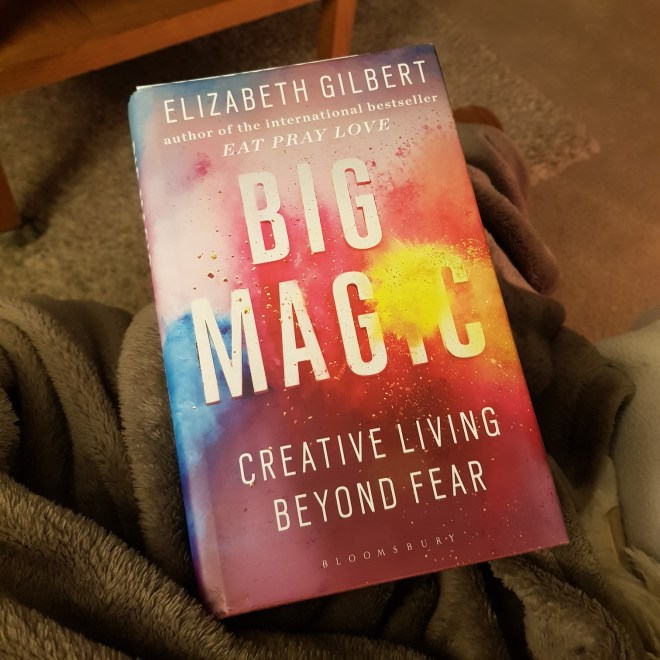 Treehousedesign recommended reading of Big Magic by Elizabeth Gilbert