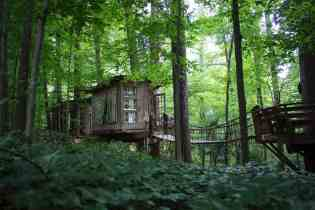 Treehouse in the US - airbnb treehouse in Atlanta-016